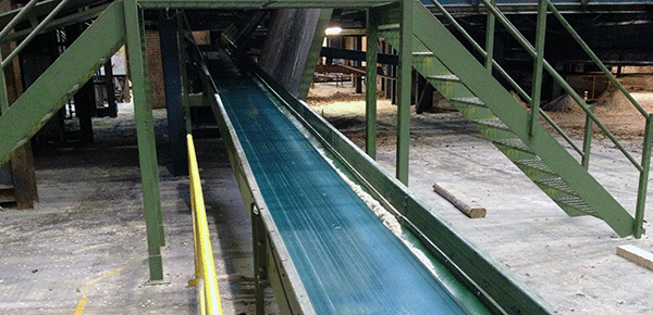 This image displays one of our conveyor systems.